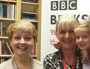 BBC radio with Sheila lamb